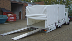 Covered Slidebed